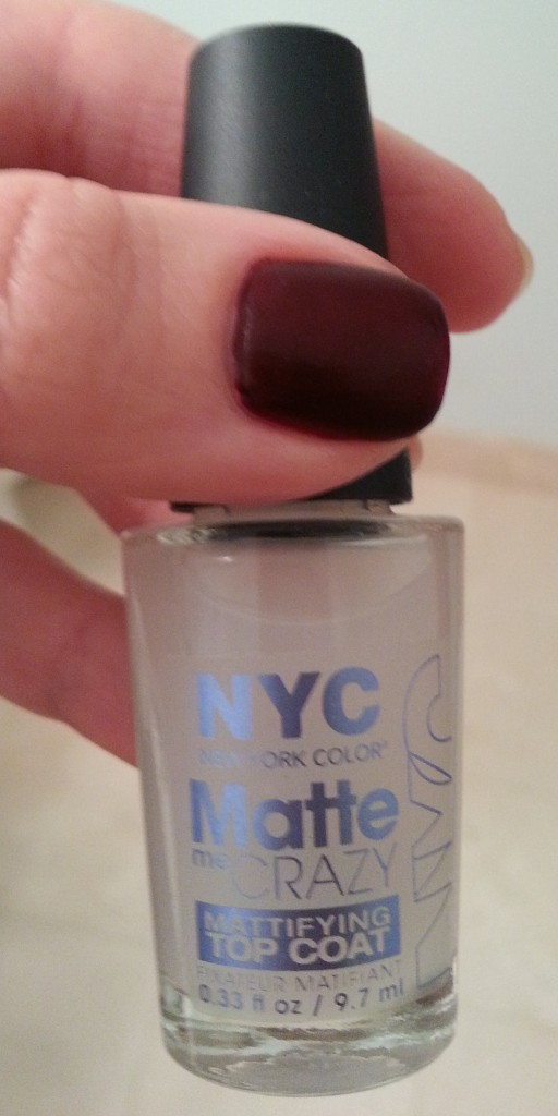 Matte Me Crazy by NYC