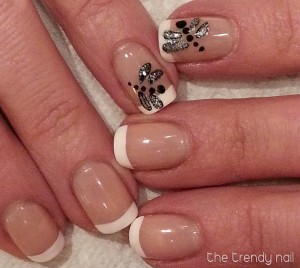 Dragonfly French Manicure
