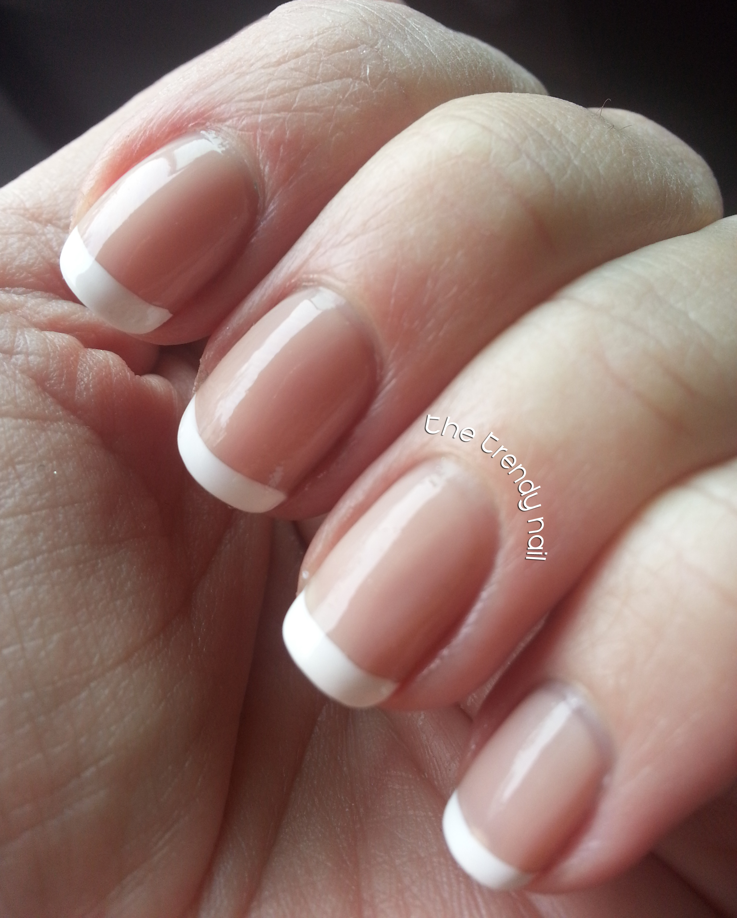 Classic French Manicure - The Trendy Nail | Nail Blog