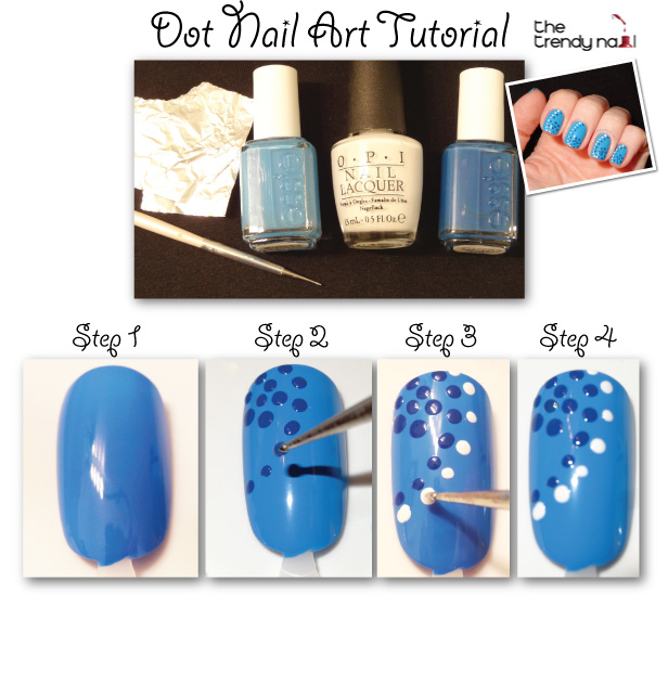 Dots Nail Art Tutorial