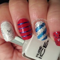 Stars and Stripes by Pure Ice