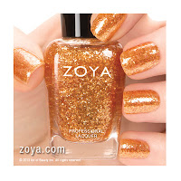 SPECIAL EDITION - SATINS TOPPER Maria - Luisa (ZP662) - Sparkling Cellophane Gold Topper