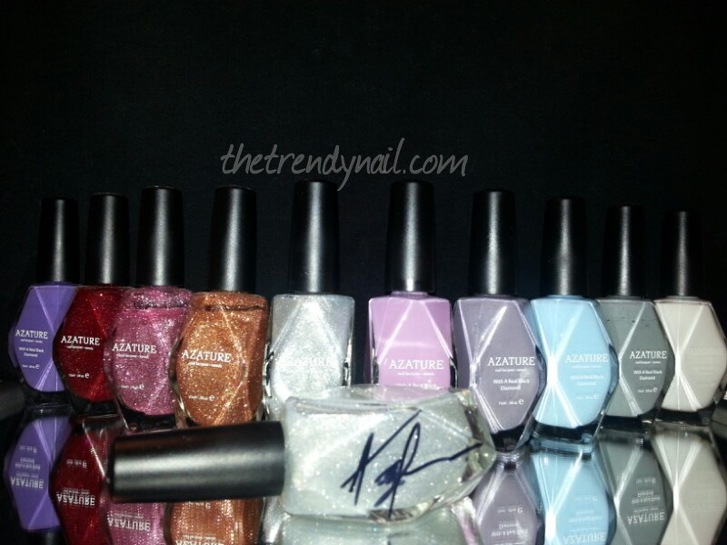 Azature Diamond Polish Collection from The Trendy Nail
