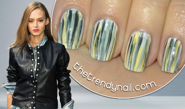 Manicure Muse: Agnes B Spring 2014 by The Trendy Nail
