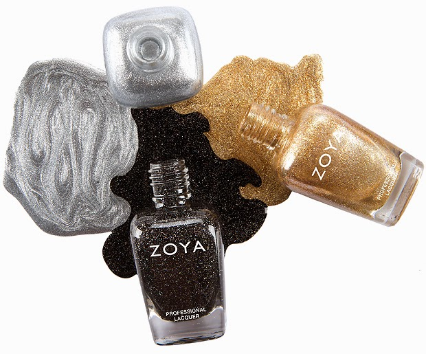 Zoya Dream Box: Tinsel Time - Ziv, Storm, Trixie Nail Polishes