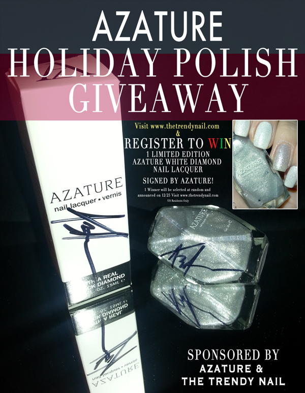 Register 2 Win Azature on www.thetrendynail.com