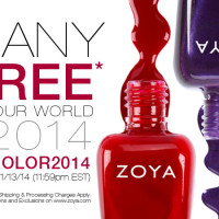 Get Any 3 FREE Zoya Polish Promo