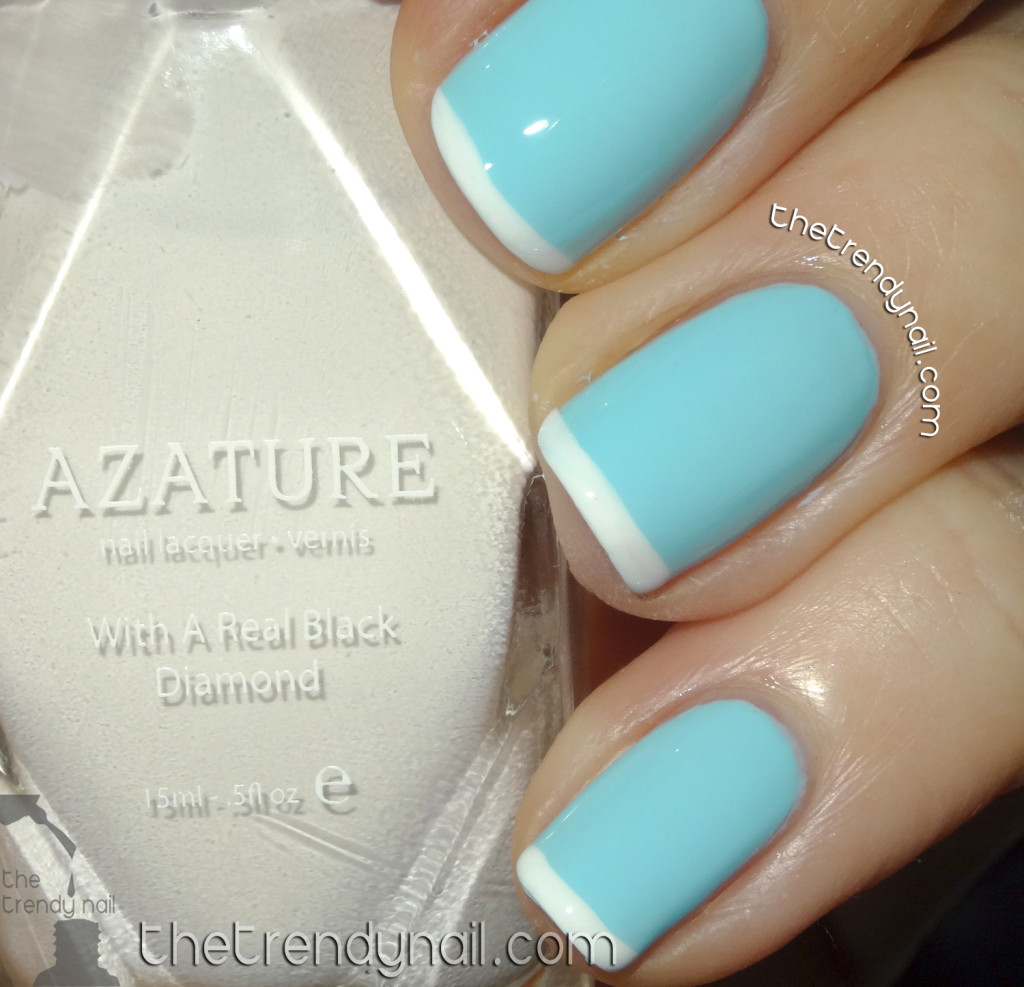 Faint White - Light Blue - Azature