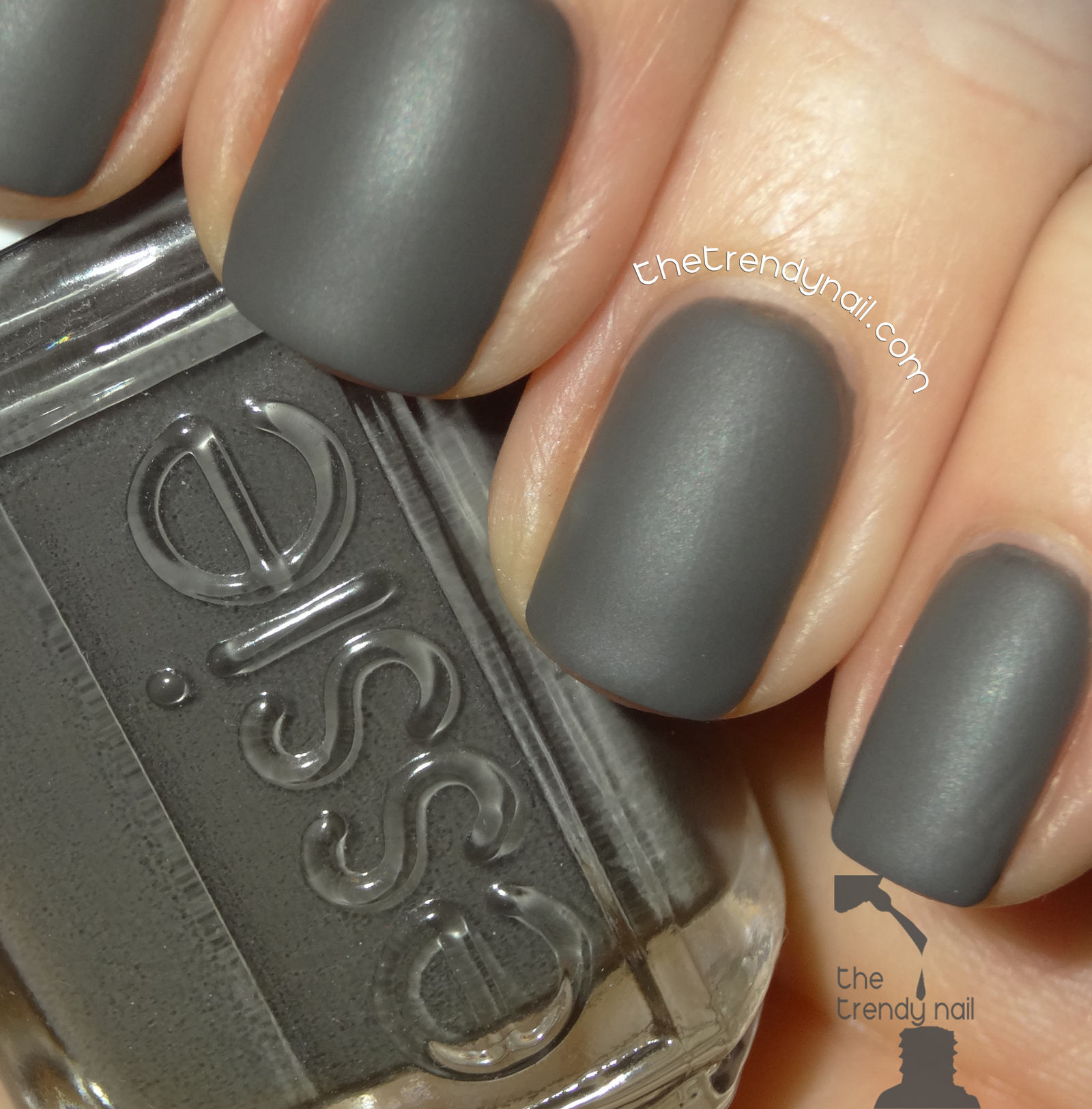 NAIL POLISH REVEALED: Essie Grays & Mattes - The Trendy Nail