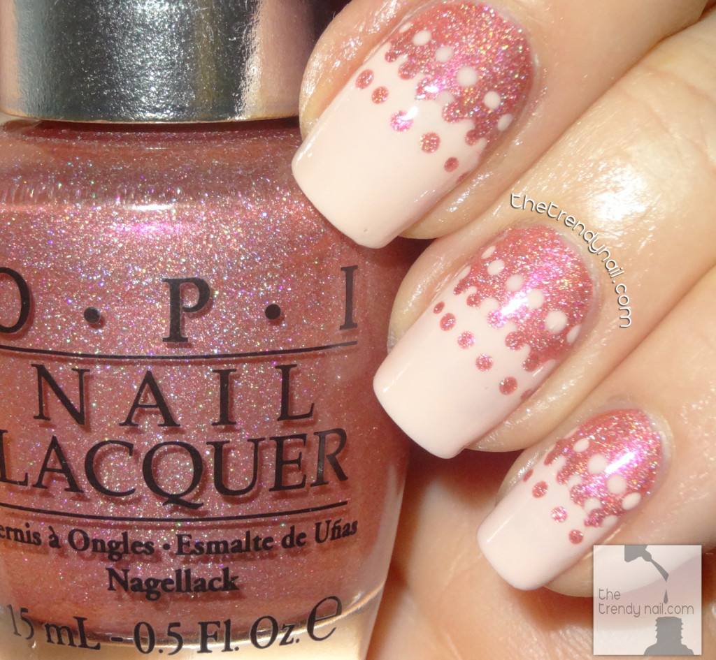 DS Reserve by OPI - Nail Art Inspired by Pedro_Lourenco_Spring2014- Seen on thetrendynail.com