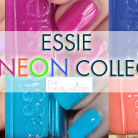 Neon Collection by Essie as seen on TheTrendyNail.com