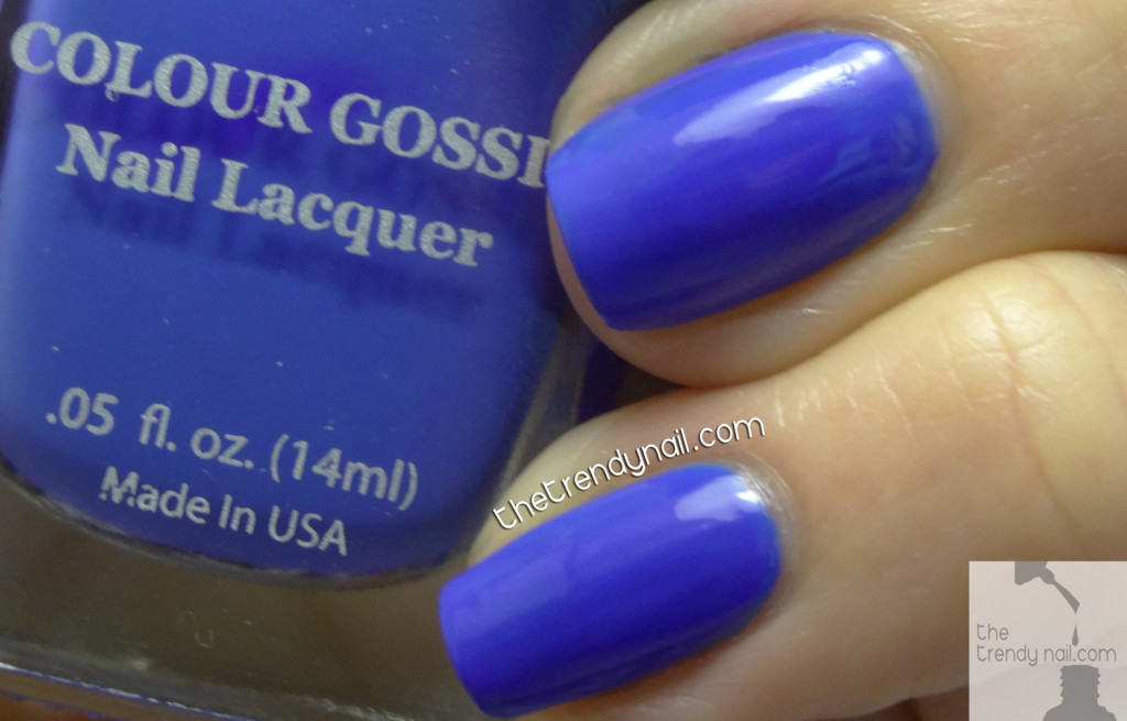 Very-Carrie-Colour-Gossip As Seen On The Trendy Nail