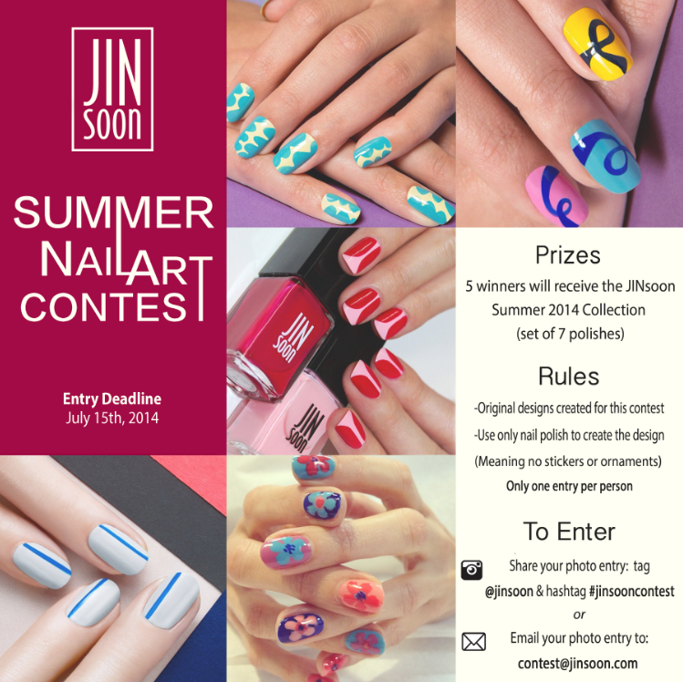 JinSoon Summer Nail Art Contest