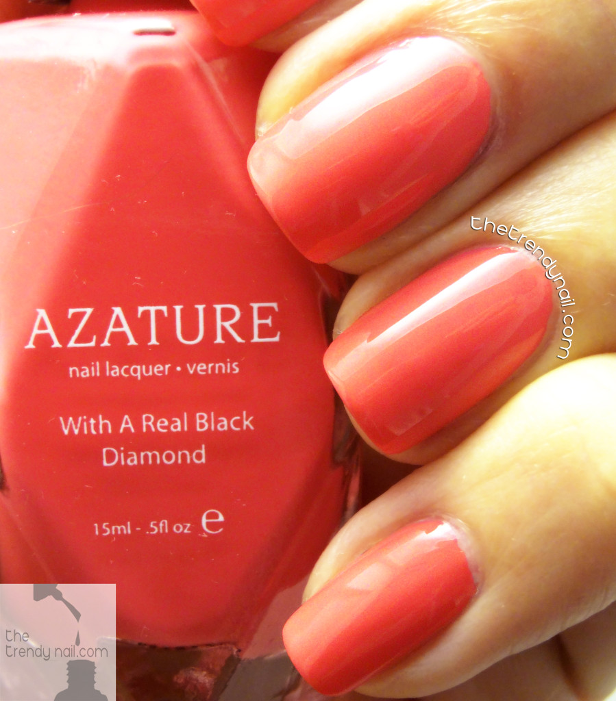 Azature-Coral-The Trendy Nail