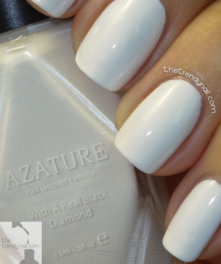 Azature-Faint-White-TheTrendyNail