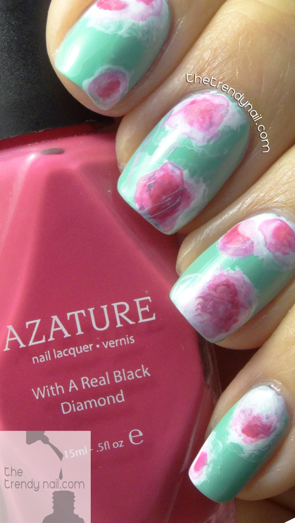 Tie-Dye-Nails-Azature-Rose-TheTrendyNail