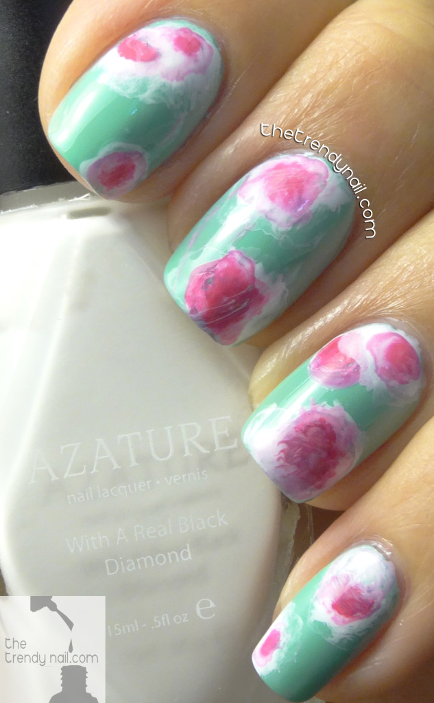 Tie-Dye-Nails-Azature Faint White -TheTrendyNail