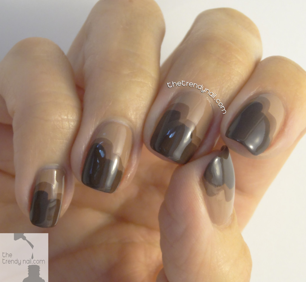 Chocolate-Cupcake-Nails-The Trendy Nail