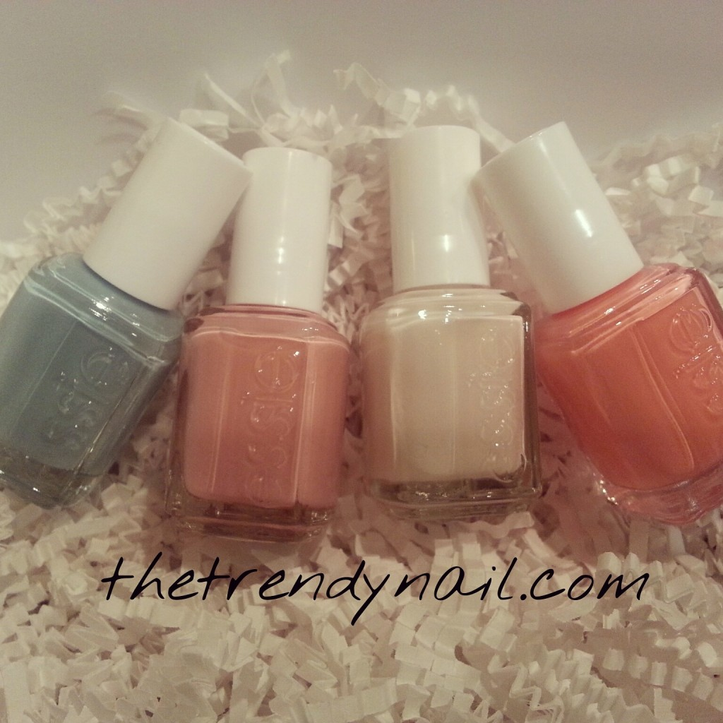 Essie 2014 wedding collection
