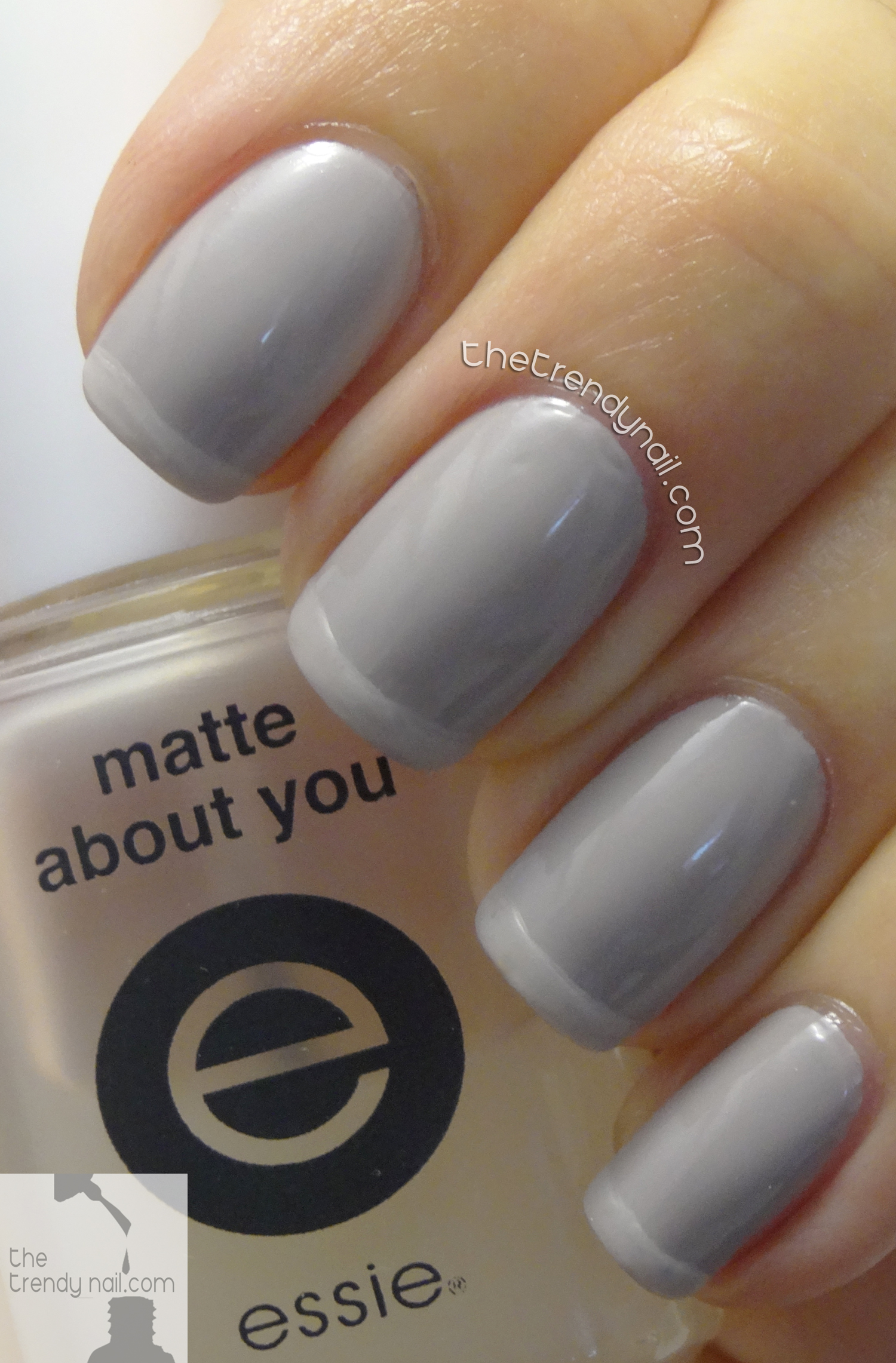 ESSIE FALL FRENCH MANICURE WITH MATTE TIPS - The Trendy Nail