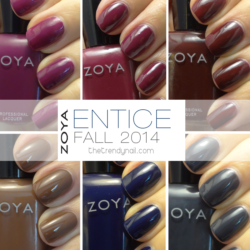 Zoya Entice Collection
