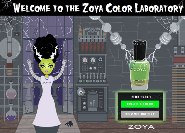 zoya color lab