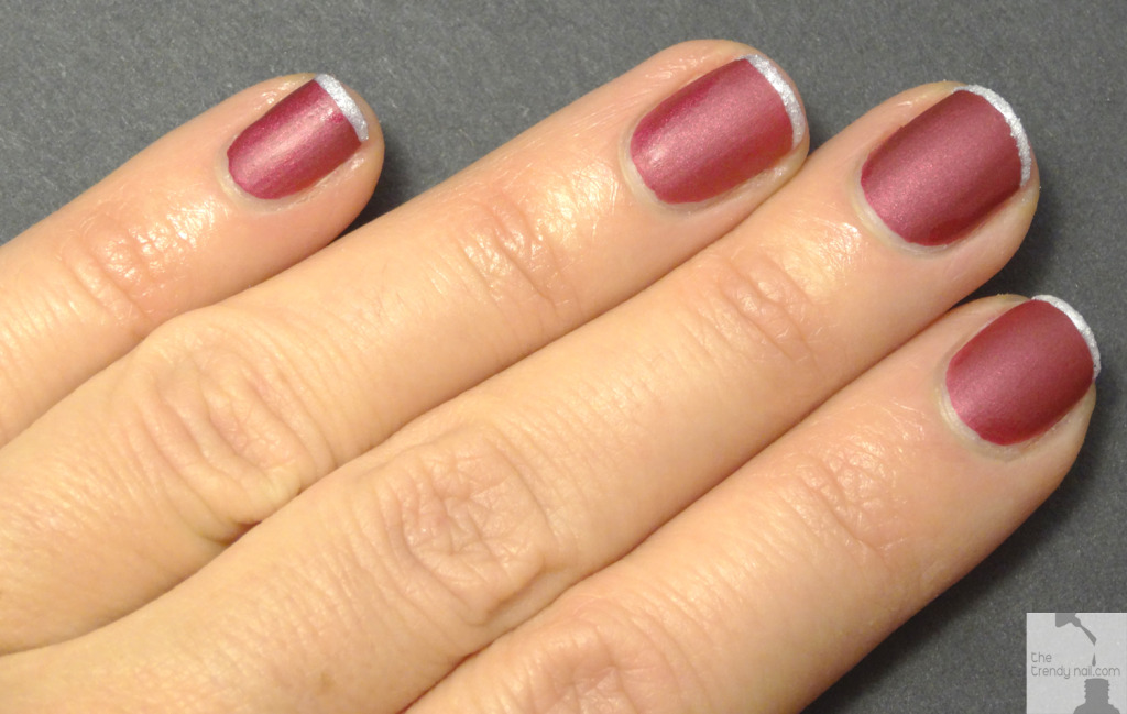 Holiday-French-Manicure
