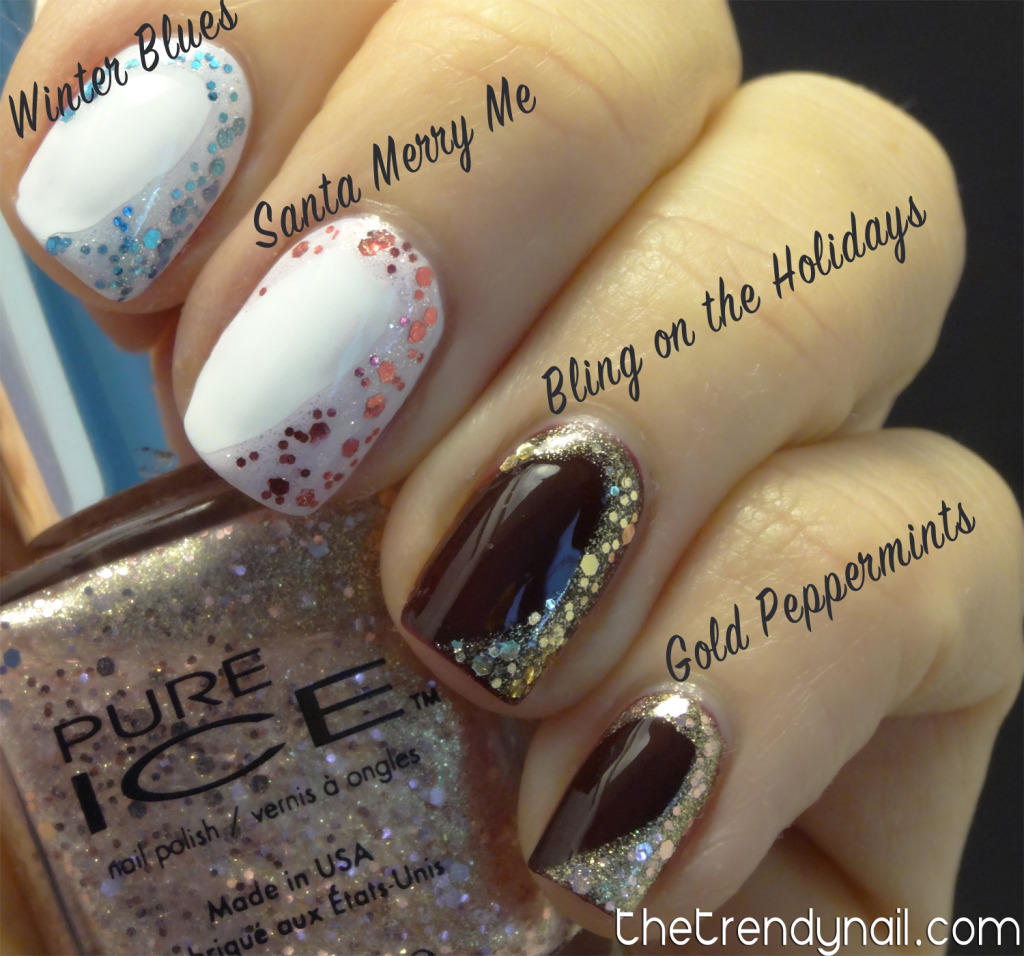 Pure Ice Swatches