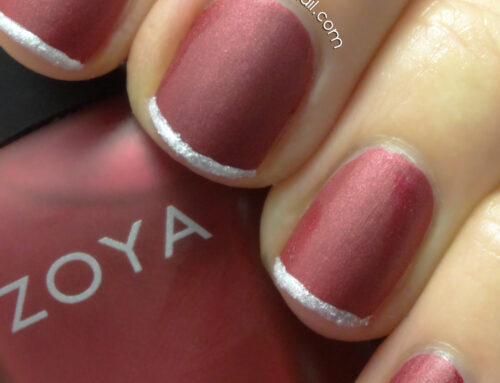 """HOW-TO"" HOLIDAY NAILS: HOLIDAY FRENCH MANICURE"