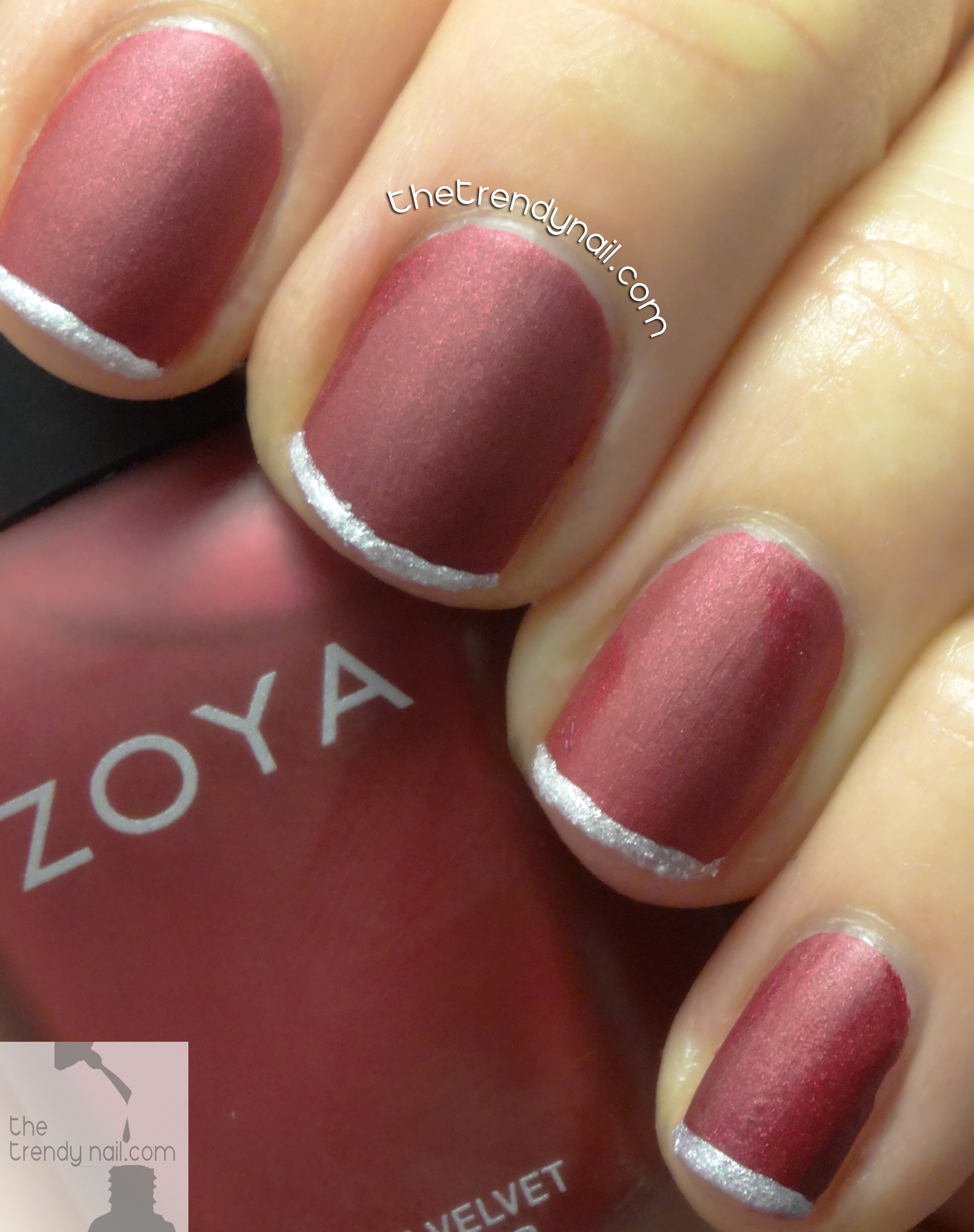 Zoya-Opi-Holiday-French-Manicure