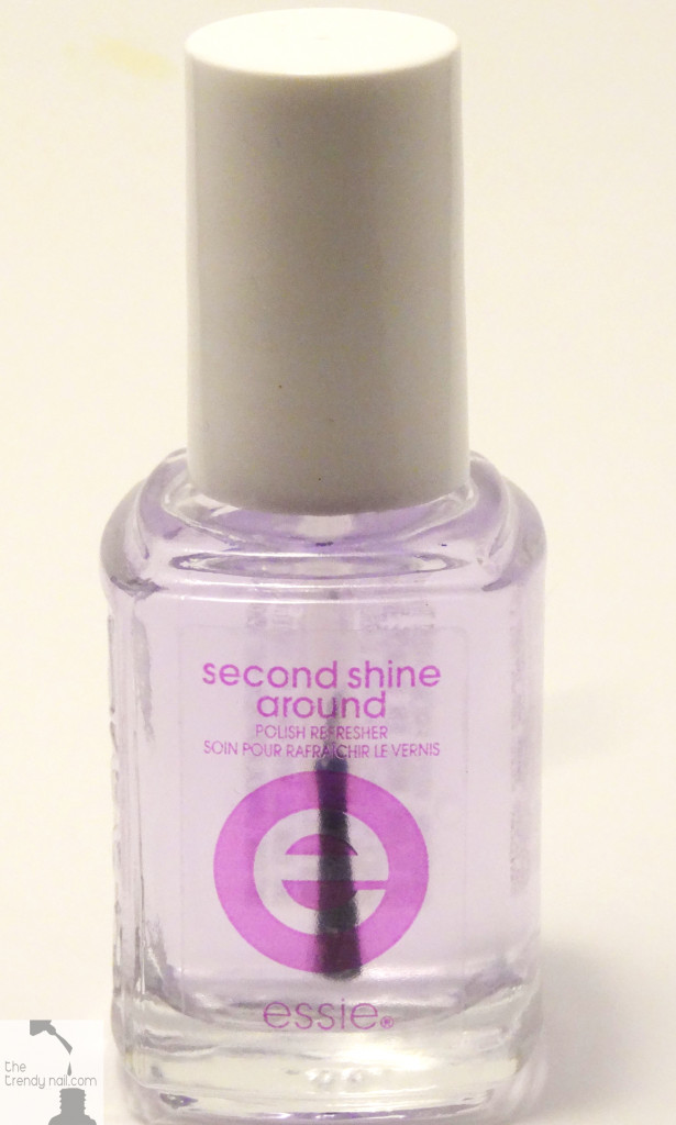 essie second_shine-around