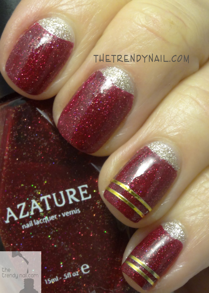 Azature-Red-Nail-Art