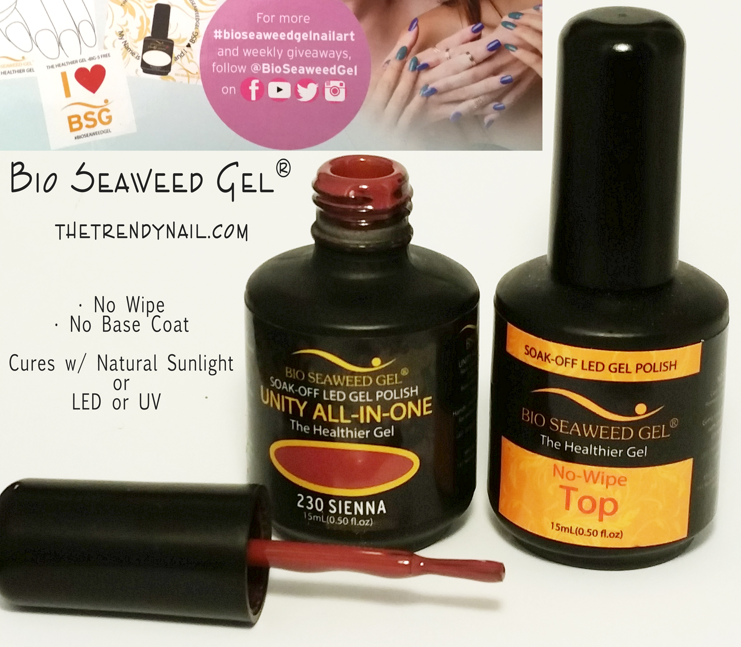 Gel Polish News: 5 Free Gel Polish that Cures in Natural Light - The ...