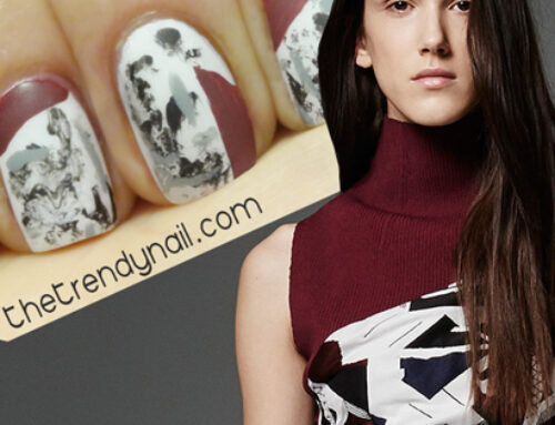 TUTORIAL THURSDAY: ICB PRE-FALL 2015 INSPIRED NAIL ART
