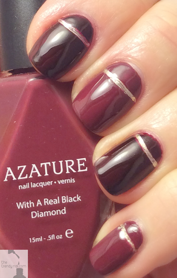 Nail Art Tribute 50 Shades Of Wine The Trendy Nail