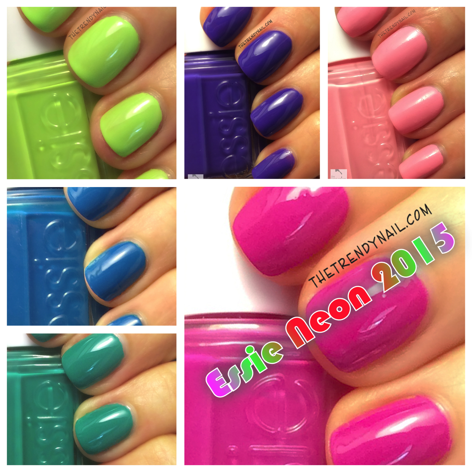Essie Neon 2015 Collection