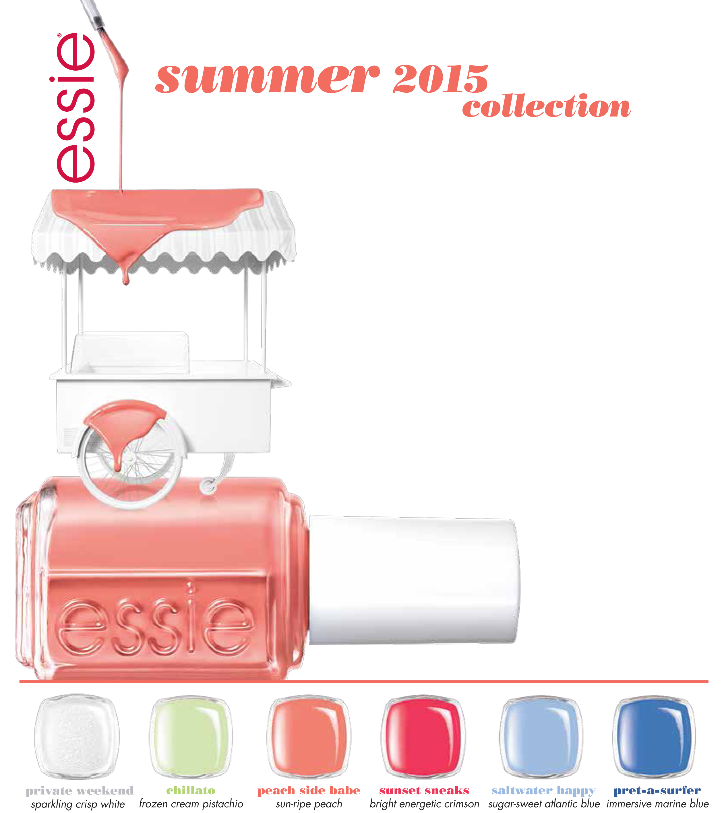essie summer 2015 press release