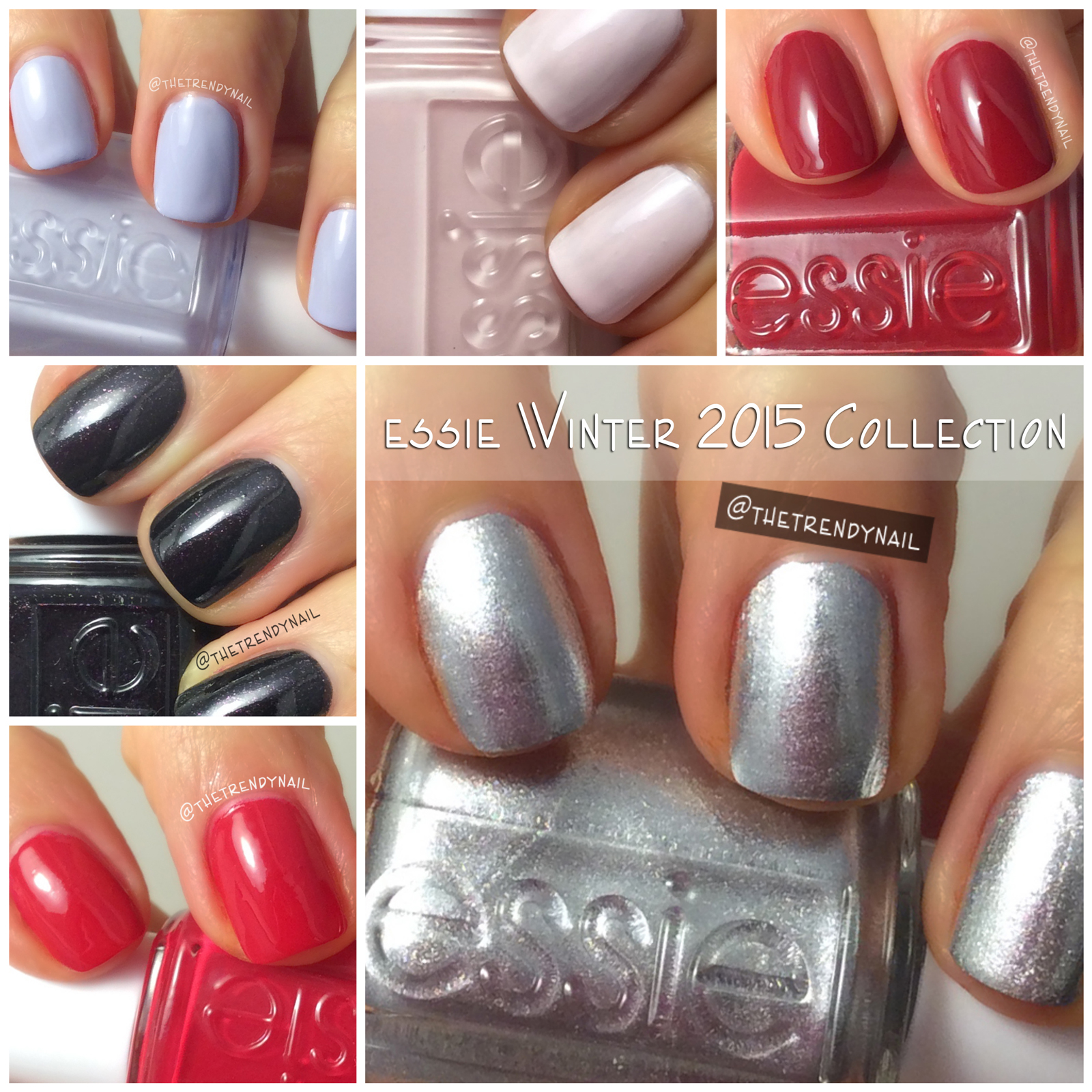 A Closer Look At The Essie Winter 2015 Collection