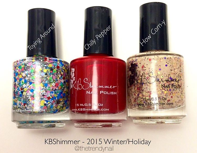 KBShimmer Holiday Winter 2015