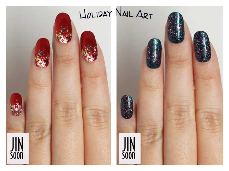 Diy Jinsoon Holiday Nail Art The Trendy Nail