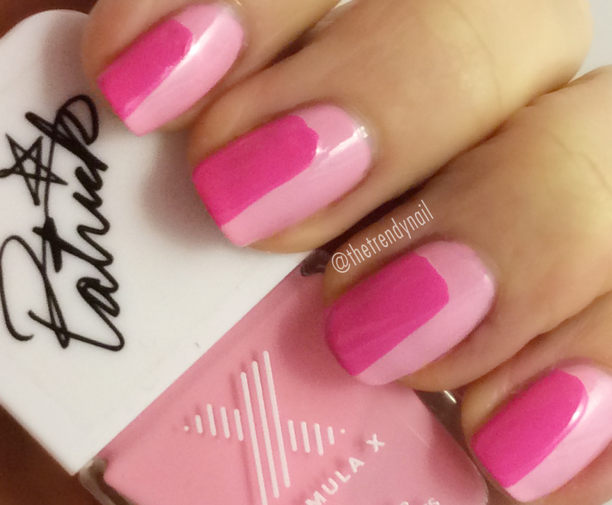 Pink-Mod-Nails Valentines Nail Art Part 2