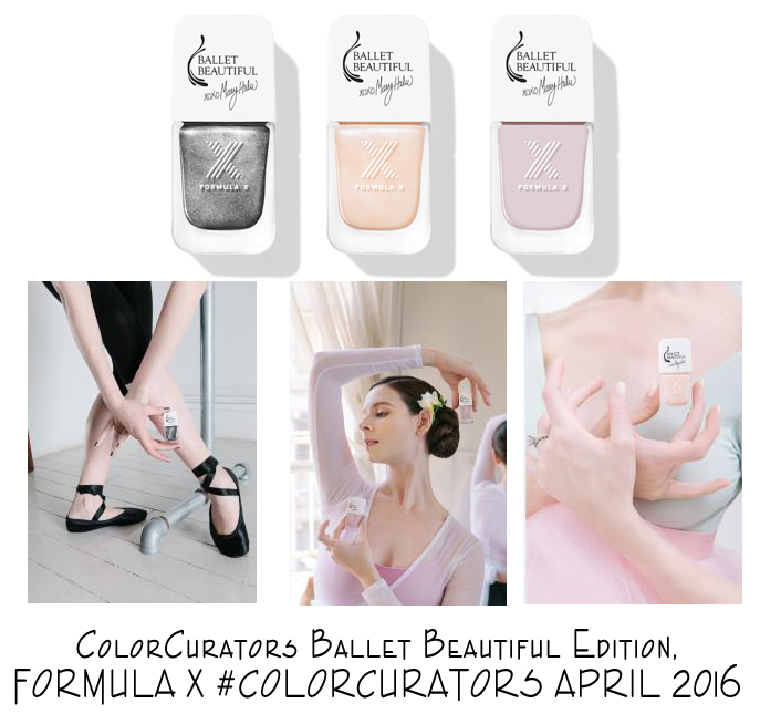 NEW RELEASE: FORMULA X Ballet Beautiful Collection