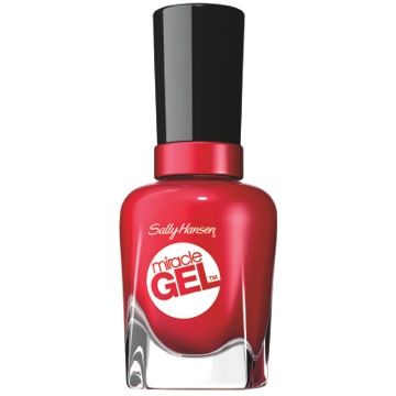Off With Her Red Sally Hansen Miracle Gel