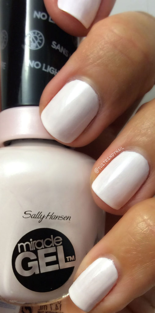 Swatches Sally Hansen Miracle Gel Neutrals Fall 2016 The Trendy Nail