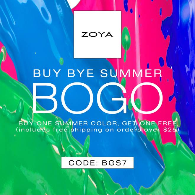 Zoya buy one get one