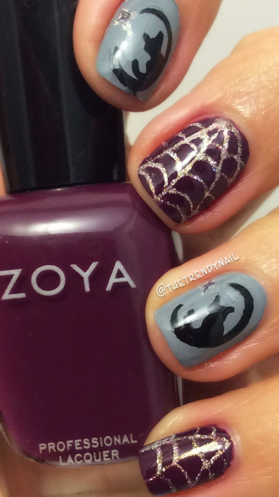Halloween Nails Featuring Zoya