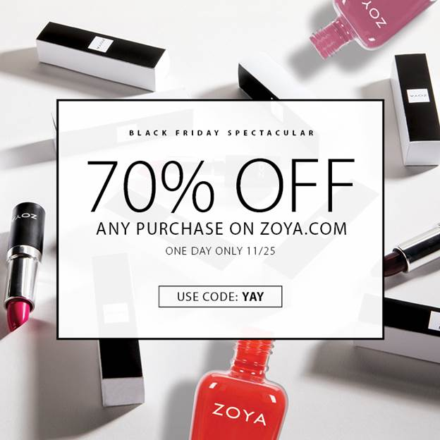 zoya black friday promo