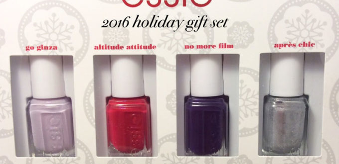 essie 2016 holiday gift set