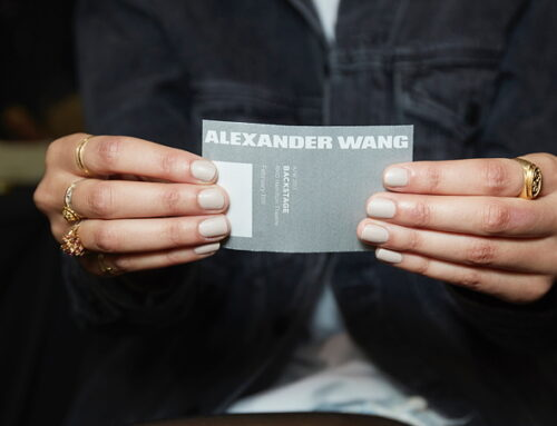 Essie Behind the Scenes: Alexander Wang FW17