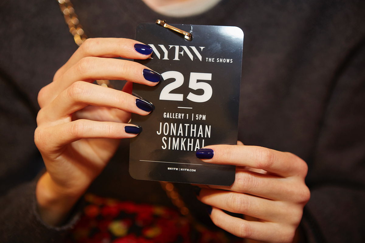 NYFW behind the scenes: Essie at Jonathan Simkhai FW17 - The Trendy Nail